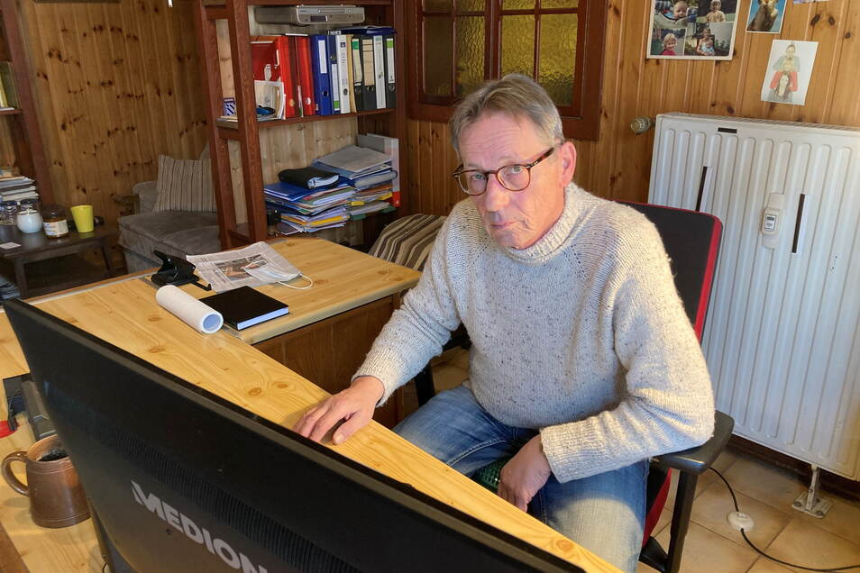 Igor Gebhardt ist Eigentümer eines Zwölfparteien-Mietshauses in Zittau.