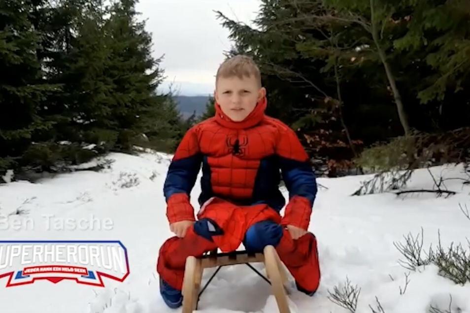 Ben Tasche hat die Krebserkrankung überstanden. Ihm zu Ehren ist der Super Hero Run geplant.