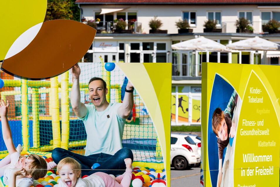 Im Kindertobeland des Solivital in Sebnitz steigt der Eintritt.