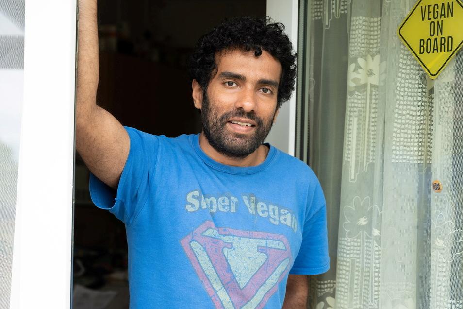 Davinder Bansat (39) wartet noch, ehe er seine Familie in Indien wieder besucht