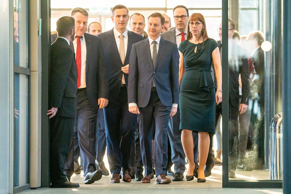 """Das """"freundliche Sachsen"""" mündete 2019 politisch in ein Keniabündnis unter Führung der CDU."""