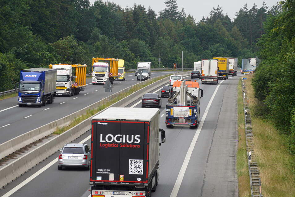 Auf der A 4 zwischen den Anschlussstellen Ohorn und Uhyst erfolgen ab 11. Oktober Arbeiten am Mittelstreifen.