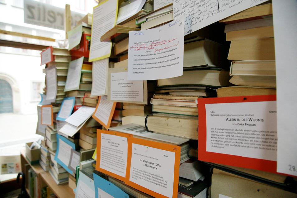 Auch früher schon war Jana Krauß' Art Goreliz mehr als ein Antiquariat. Mit Veranstaltungen wie der Lese-Challenge zog sie Leser und Besucher an.