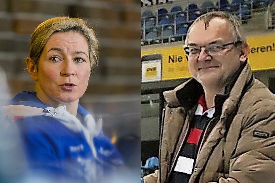 Claudia Pechstein setzt ihren Kleinkrieg mit der Deutschen Eisschnelllauf-Gemeinschaft fort. Deren Vizepräsident, der Dresdner Uwe Rietzke, hat dazu eine klare Meinung.