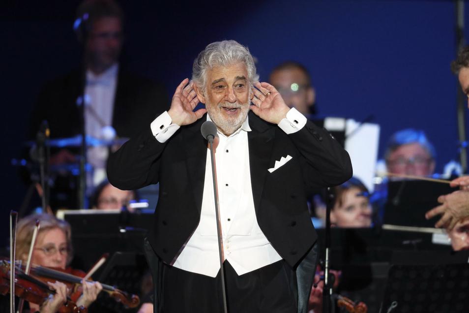 Placido Domingo, Opernsänger aus Spanien, wird sexuelle Belästigung vorgeworfen.