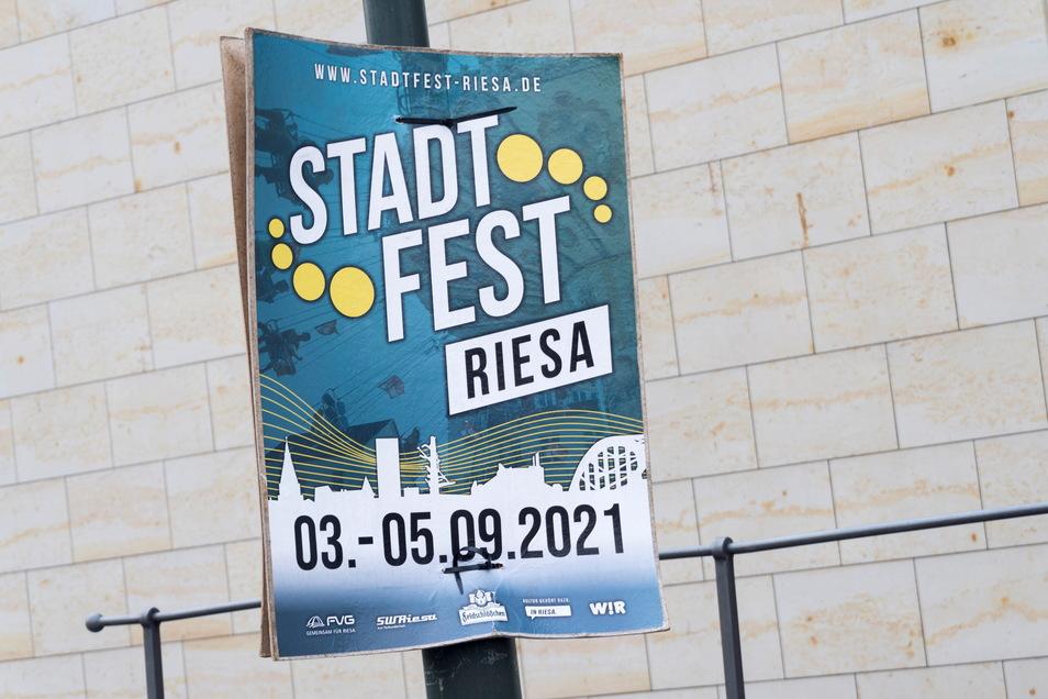 In Riesa steigt am ersten September-Wochenende das Stadtfest.