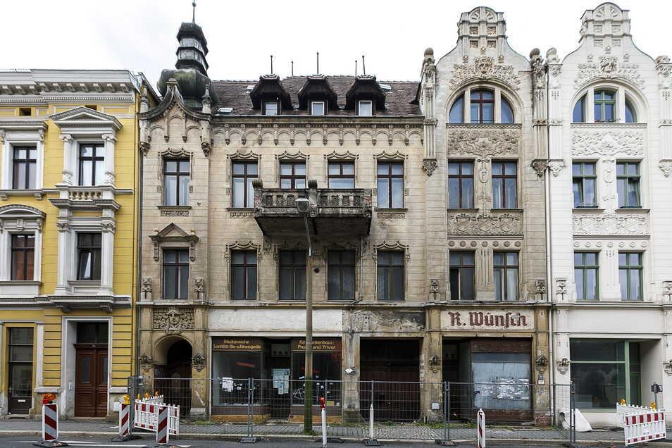 Das Haus Bismarckstraße 18 ist vorigen Montag in Görlitz zwangsversteigert worden. Nun steht es zum Weiterverkauf im Internet.