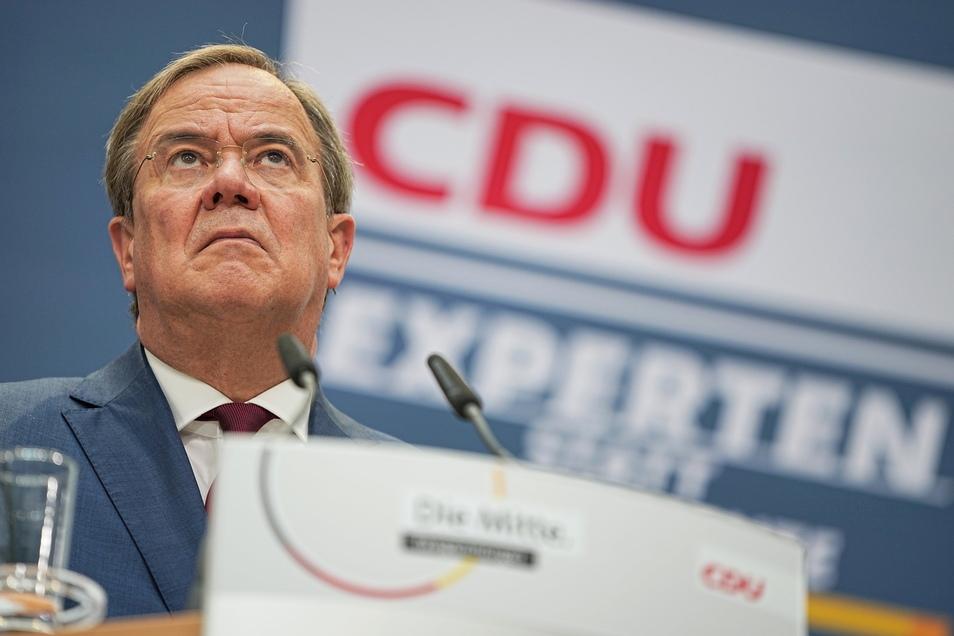 Der Parteinachwuchs in Sachsen drängt auf den Rückzug von CDU-Chef Armin Laschet