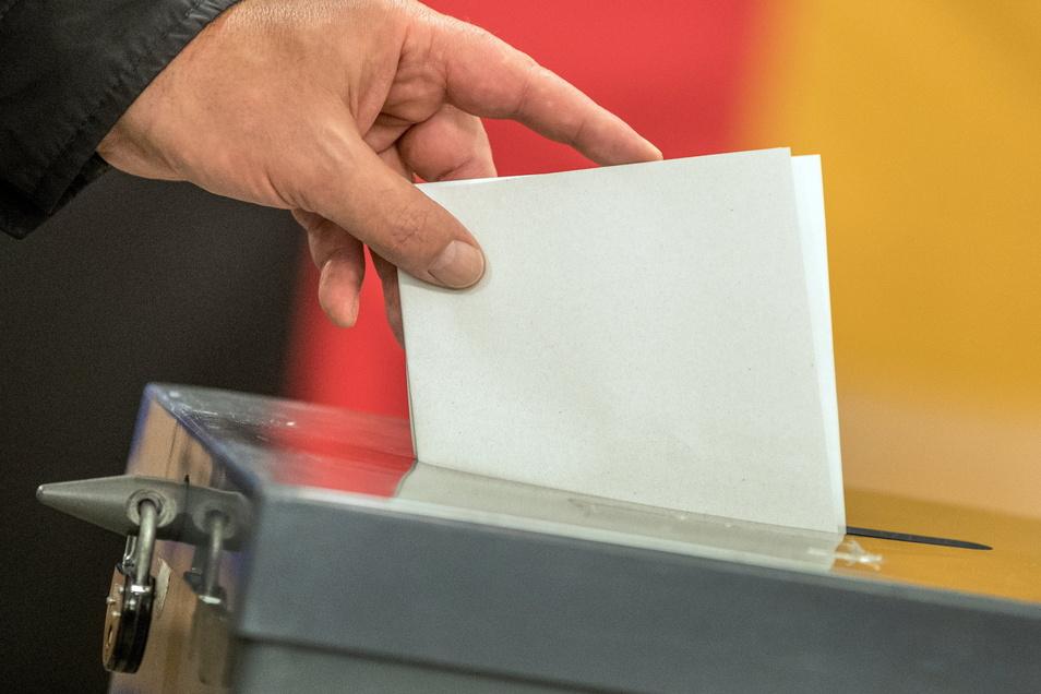 Wem geben die Wahlberechtigten im Kreis Mittelsachsen bei der Bundestagswahl ihre Stimme?