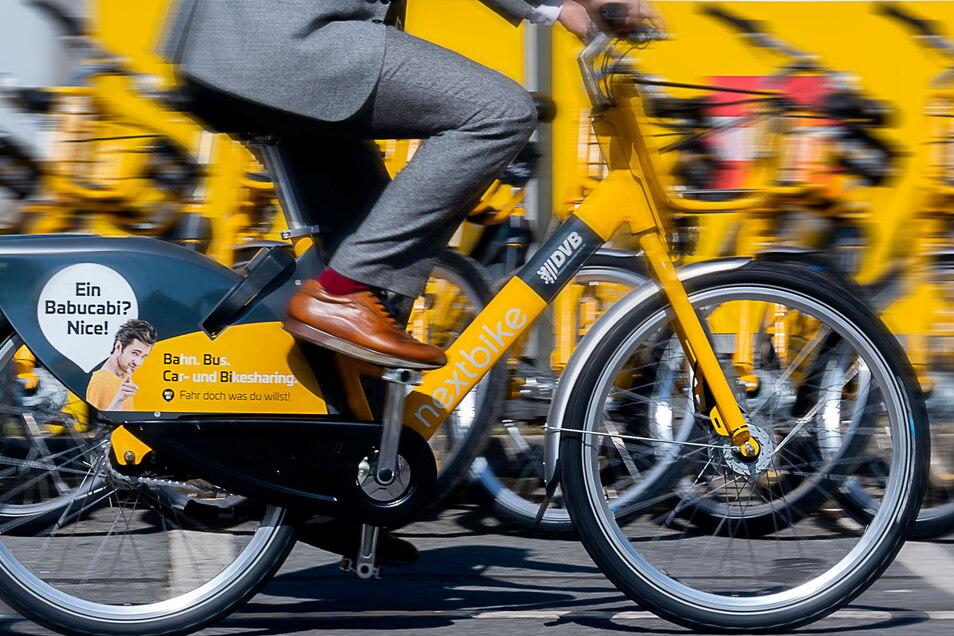 In Dresden und Leipzig gibt es die Leih-Räder von Nextbike. Derzeit gibt es jedoch eine Störung.