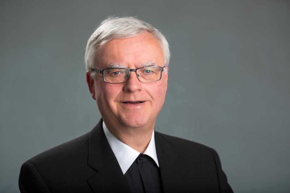 """Der Berliner Erzbischof Heiner Koch bittet die Betroffene um Entschuldigung. """"Sollte ich Signale oder Hinweise auf Missbrauch nicht wahrgenommen haben, so bedaure ich dies zutiefst."""""""