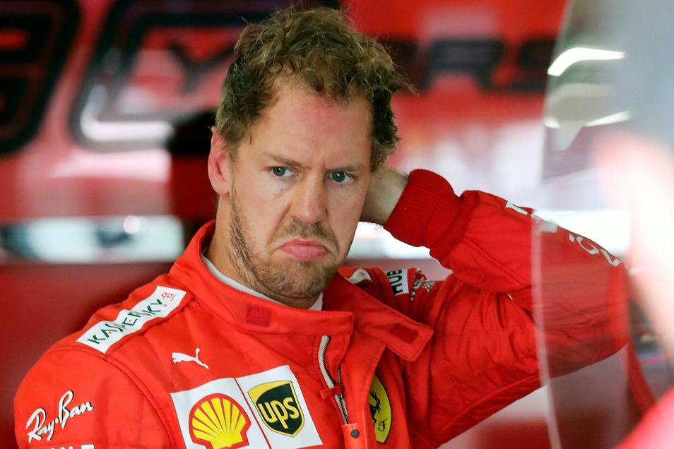 Sebastian Vettel fährt künftig nicht mehr für Ferrari.