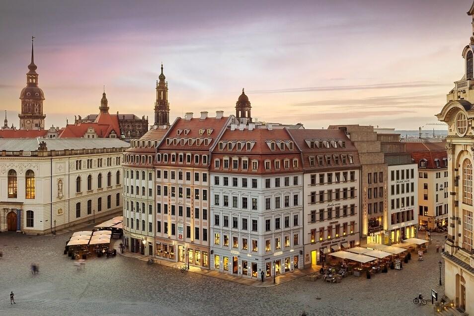 Das QF Quartier an der Frauenkirche.