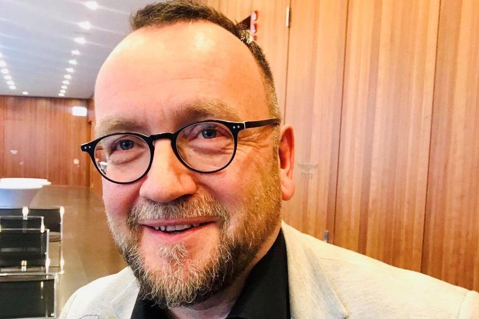 Jens Baumann ist seit der Vereinsgründung 1993 im Vorstand des Denkmalvereins aktiv. Seit 2006 ist er Vorsitzender.