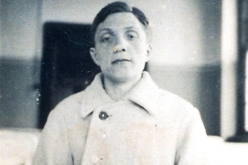 "Als ""lebensunwert"" ermordet in seiner Heimatstadt Pirna: Willy Pomsel (28)."