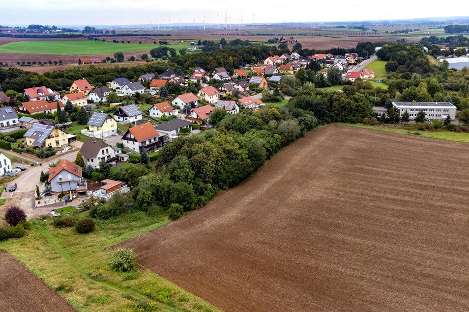 Auf dem Areal parallel zum Eichenweg soll ein neues Wohnbaugebiet entstehen.