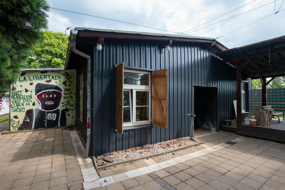 Das Alternative Jugendzentrum (AJZ) in Leisnig ist baulich nicht in bestem Zustand. Allerdings hat die Kommune als Eigentümer schon Reparaturen veranlasst.
