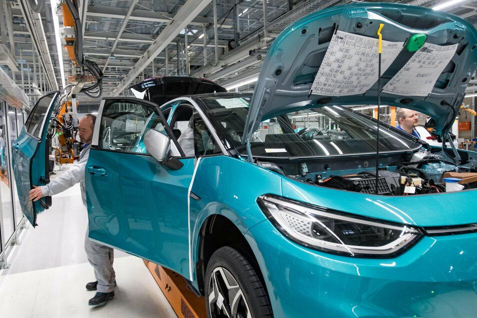Die Volkswagen Sachsen GmbH hat drei Standorte in Zwickau, Chemnitz und Dresden.
