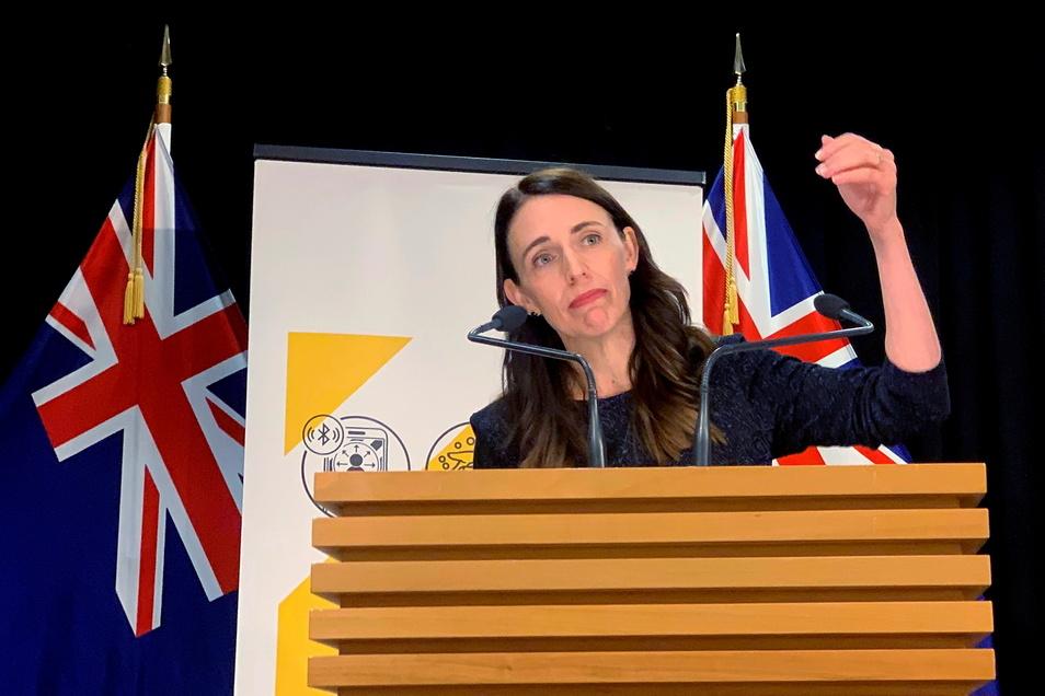 Jacinda Ardern, Premierministerin von Neuseeland, hat einen Lockdown über Auckland verhängt.