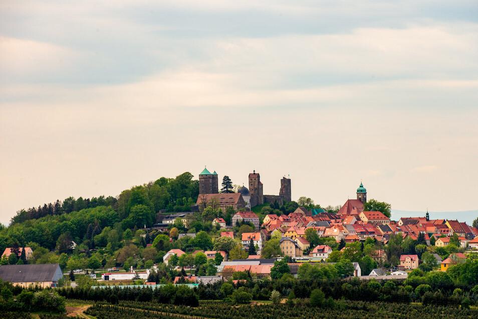 Die Burg Stolpen - das Wahrzeichen der Stadt. Die Menschen zeichnet aber noch mehr aus.