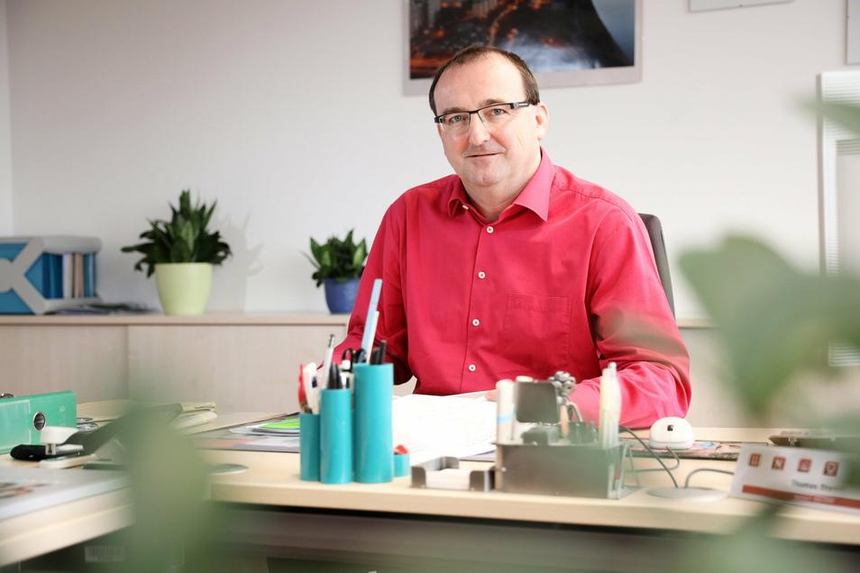 Thomas Stamm ist seit 2020 Vorsitzender der Geschäftsführung der Arbeitsagentur Riesa. Die ist für den kompletten Landkreis Meißen zuständig.