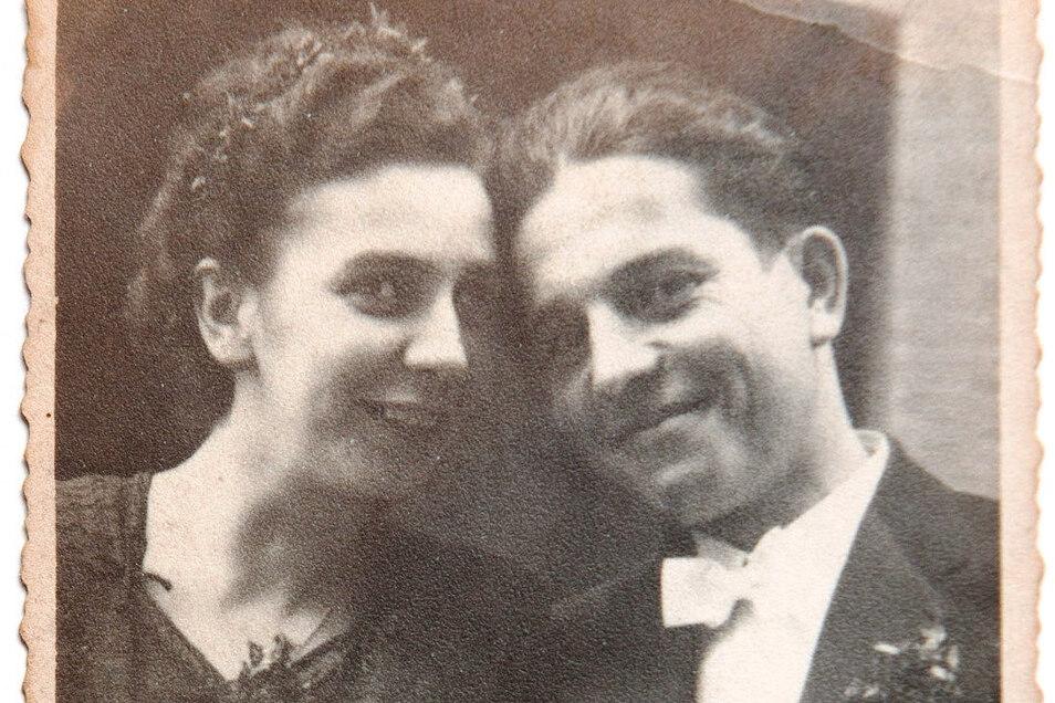 Ihren ersten Mann Gerhard durfte Charlotte Simunek nach der Hochzeit nur noch selten sehen.
