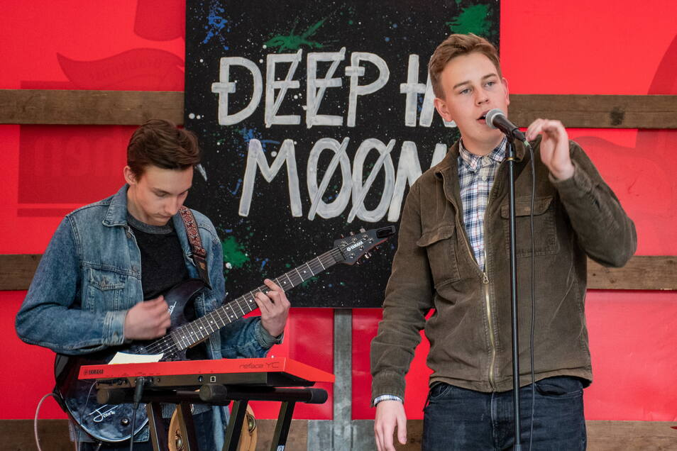 Deep in Moon hat als Schülerband in Döbeln angefangen. Jetzt leben die vier Musiker in Leipzig und geben am Freitag ein Heimspiel.