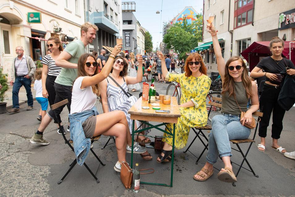 Viele Feste und Veranstaltungen sind abgesagt, doch noch gibt es Hoffnung. Auch für die Bunte Republik Neustadt.
