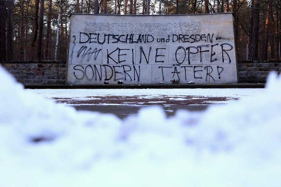Der Heidefriedhof: Hier stehen verschiedene Kriegsdenkmäler, die immer wieder zum Politikum werden.