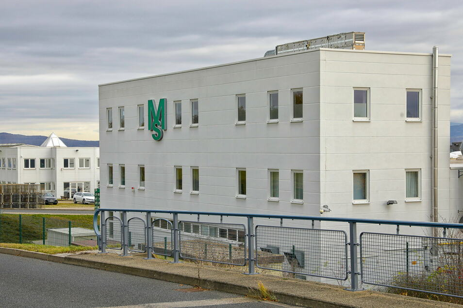 MS Powertec im Gewerbegebiet Weinau.