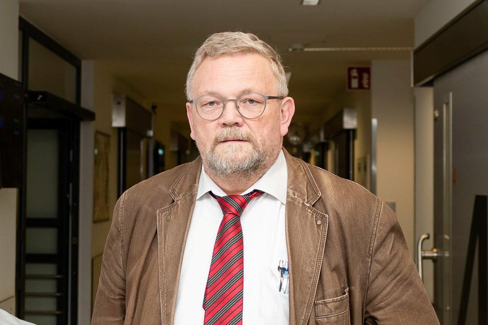 Reiner E. Rogowski,  Geschäftsführer der Oberlausitz Kliniken, leitet jetzt auch das Tochterunternehmen OL Physio, das zwei Therapiezentren unterhält.