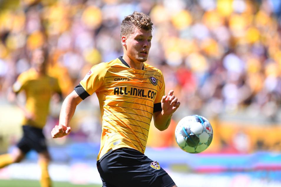 Große Ehre für Dynamo-Talent Kevin Ehlers: Der 19-Jährige wird vom DFB ausgezeichnet.