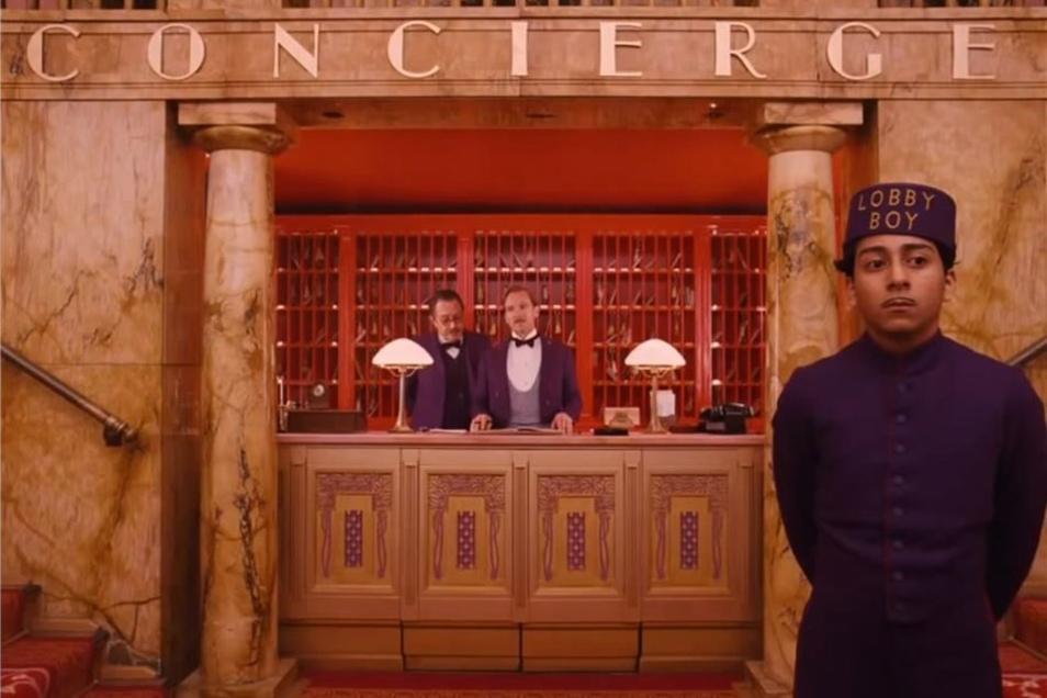 """Inspiriert ist der Hotdog-Stand vom Film """"The Grand Budapest Hotel""""."""