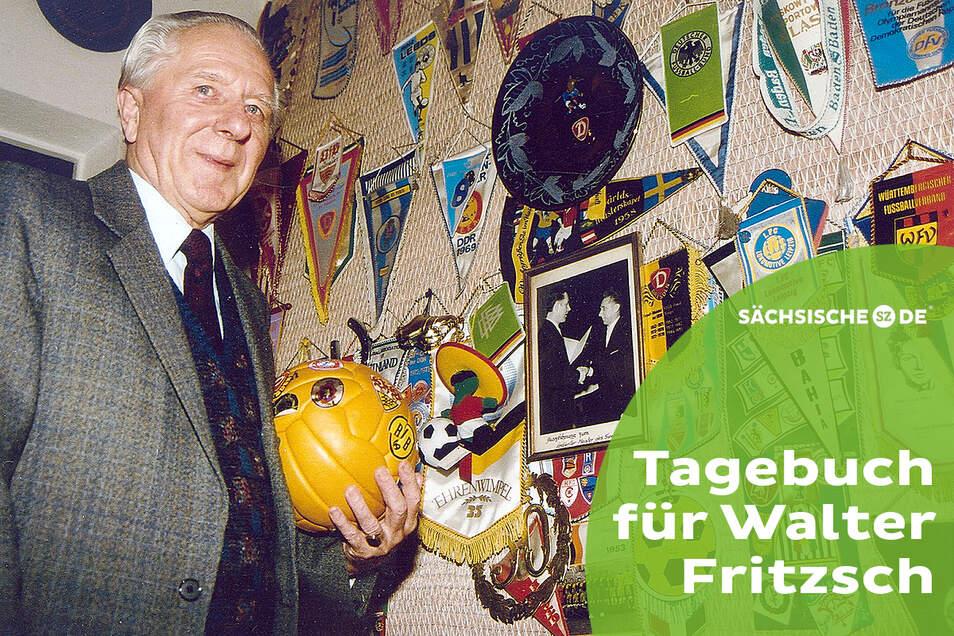 Ein Leben für den Fußball? Ja, aber Walter Fritzsch war darüber hinaus eine besondere, weil zwiespältige Persönlichkeit.