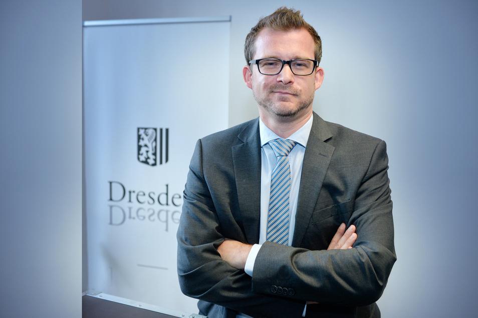 Baubürgermeister Raoul Schmidt-Lamontain (Grüne) will Dresden verlassen.