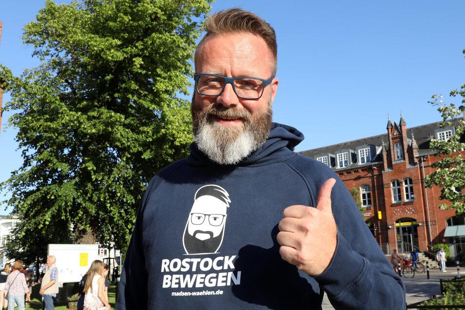Claus Ruhe Madsen ist erster Oberbürgermeister einer deutschen Großstadt ohne deutschen Pass.