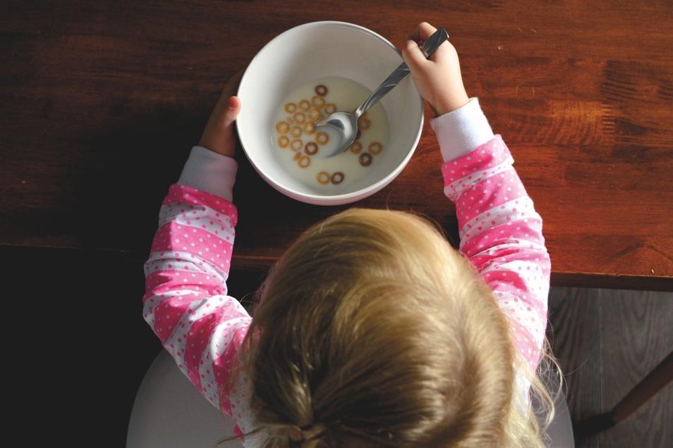 Eltern sind auch beim Thema Essen Vorbilder.
