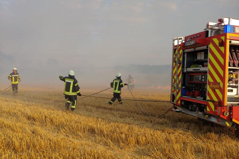 Feldbrände wie in Oberebersbach entwickeln sich zum Dauerproblem.