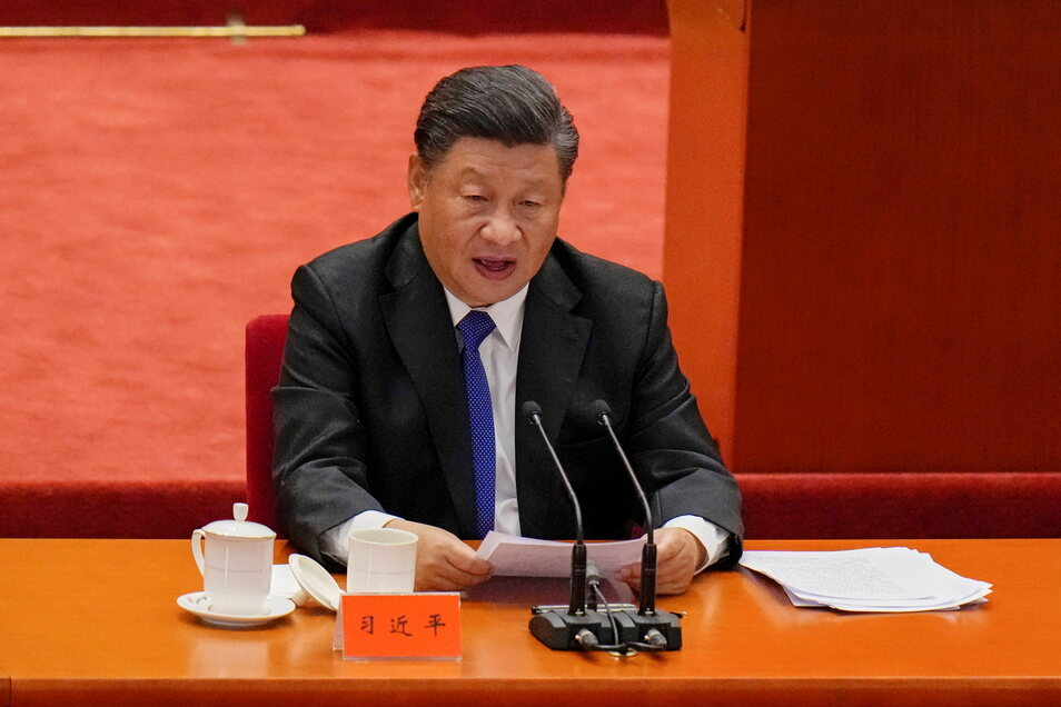 Staatschef Xi Jinping sprach anlässlich des 110. Jahrestages der Revolution in China.
