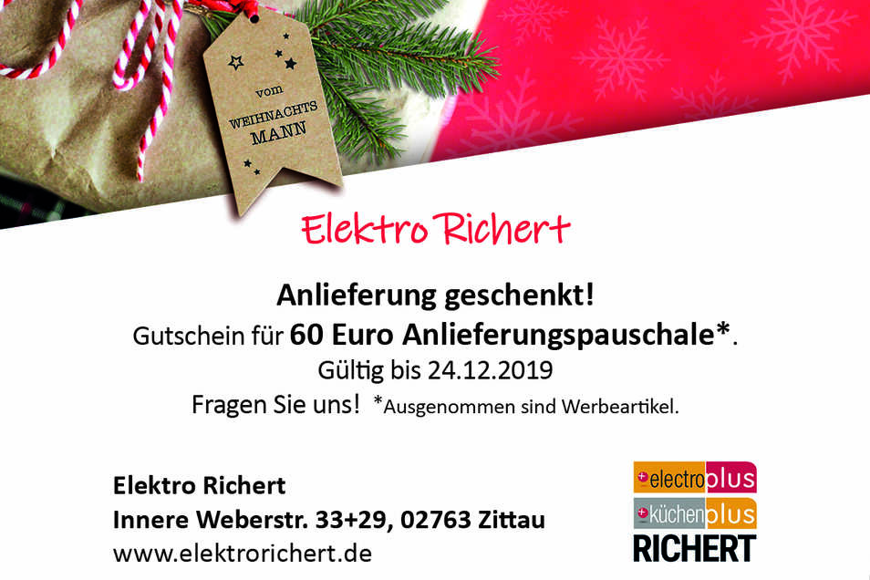 Elektro Richert,Innere Weberstraße 33, 02763 Zittau