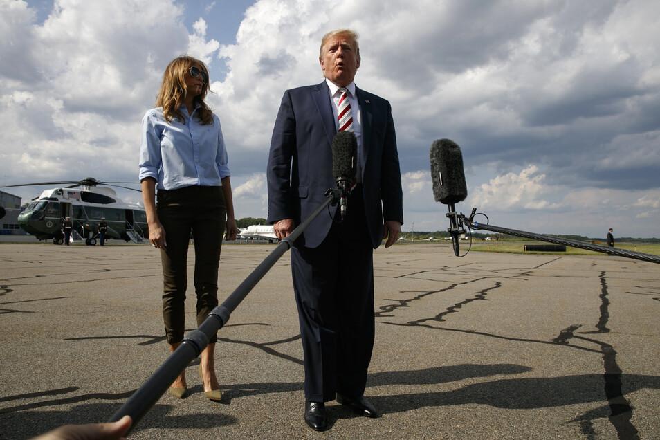 Mittels Notstandsgesetze will US-Präsident Donald Trump den Mauerbau finanzieren - das ist rechtlich wie politisch höchst umstritten.