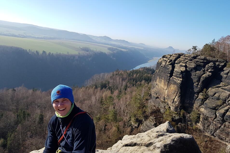 Christoph Weber ist Notfallsanitäter sowie Bereitschaftsleiter der Bergwacht Sebnitz.