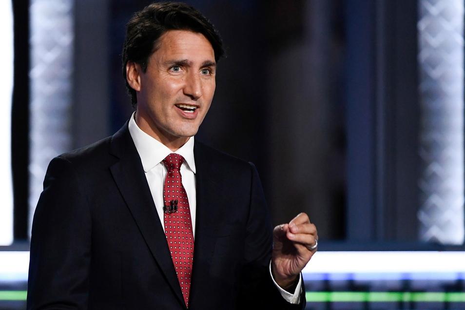 Justin Trudeau, Premierminister von Kanada und Parteivorsitzende der Liberalen, hat nach ersten Ergebnissen die vorgezogene Parlamentswahl gewonnen.