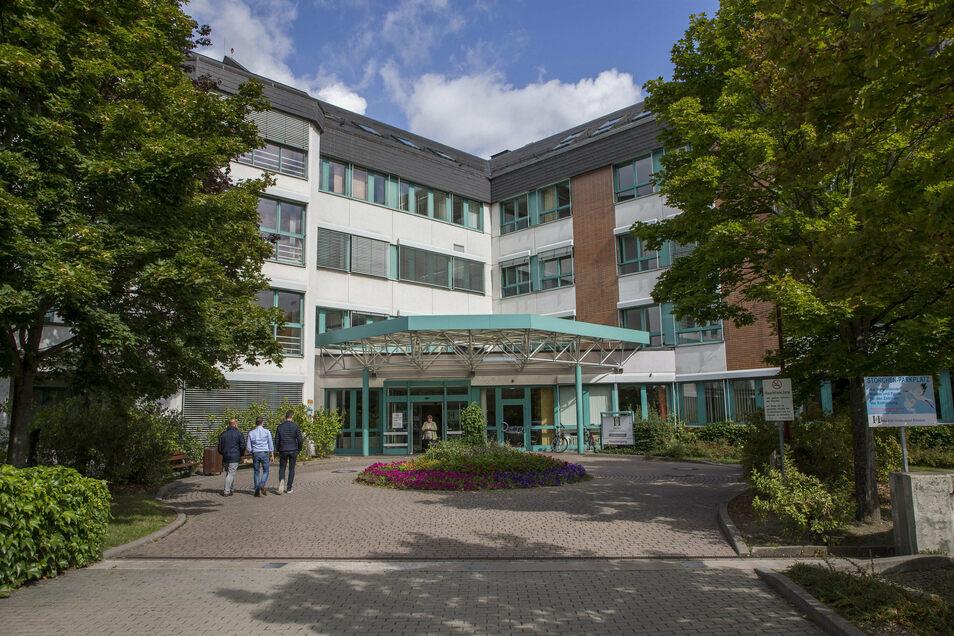 Das Freitaler Krankenhaus ist für Besucher nur noch in bestimmten Fällen geöffnet.