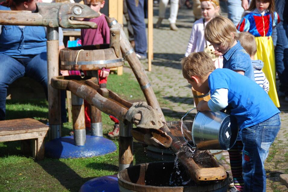 Auch für Familien mit Kindern wird im Mittelalter so einiges geboten.
