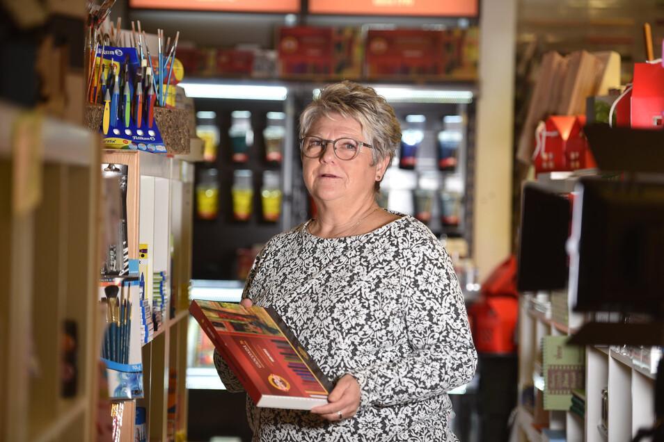 Die Zittauer Einzelhändlerin Dörte Wagner ist eine von vielen Unternehmern, die einen Nachfolger suchen.