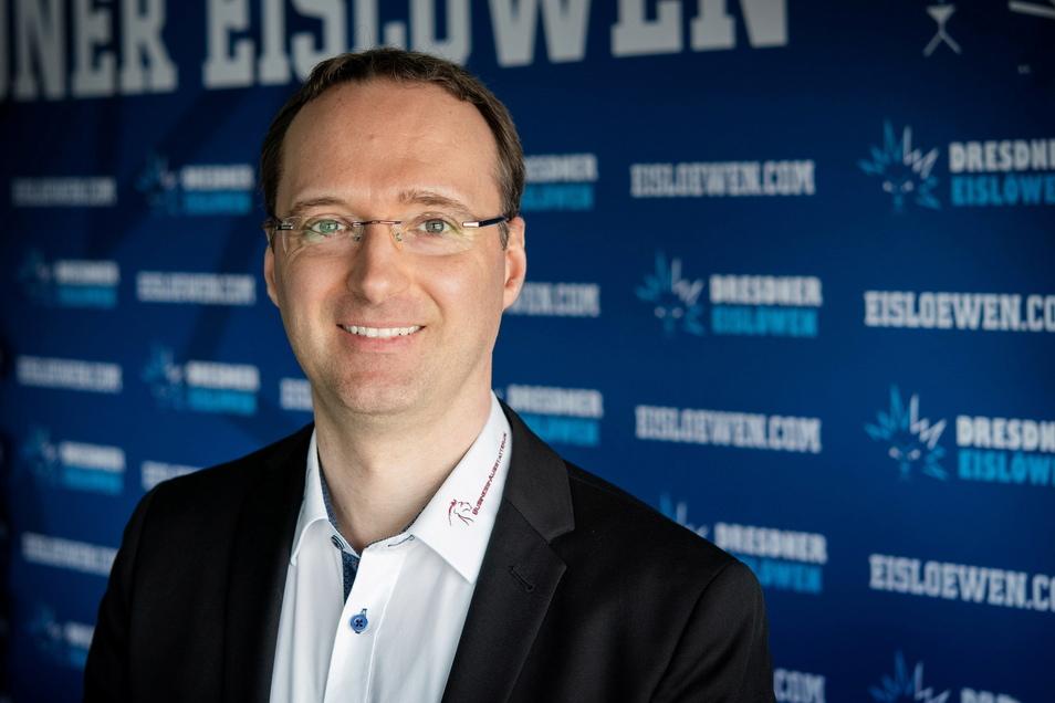 Matthias Roos arbeitete zuletzt beim Erstligisten in Krefeld, nun will er als Sportdirektor die Eislöwen-Mannschaft umbauen.
