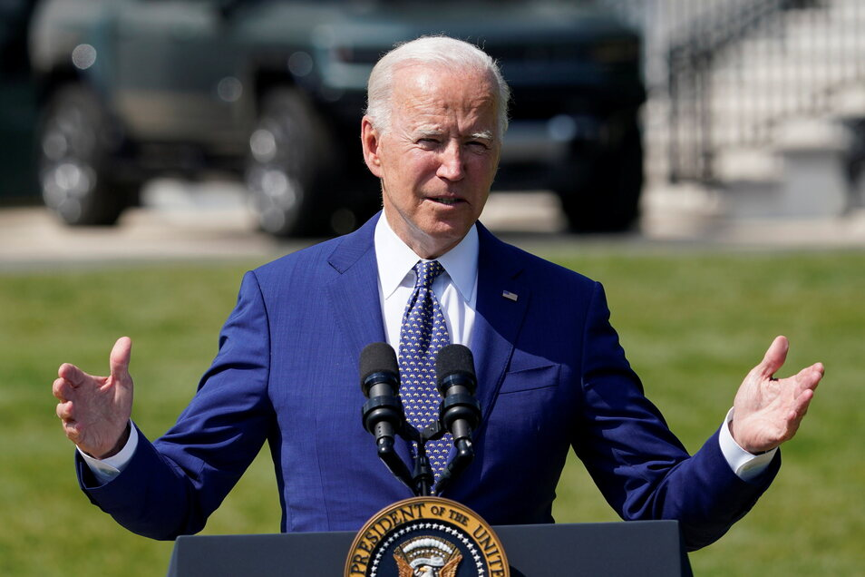 Joe Biden, Präsident der USA, versucht die Amerikaner zur Impfung zu bewegen.