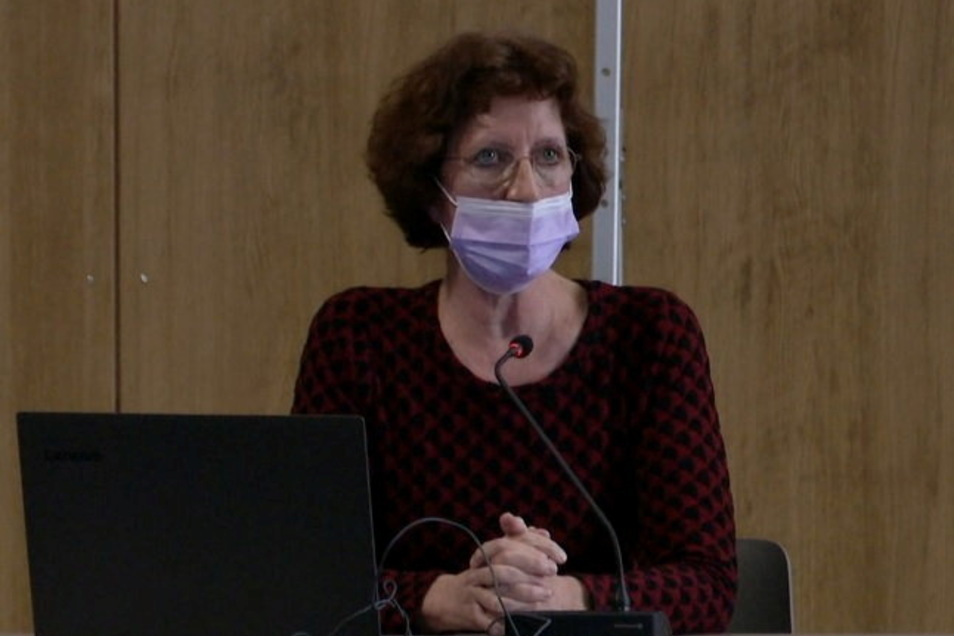 Katrin Schiel im Görlitzer Stadtrat.