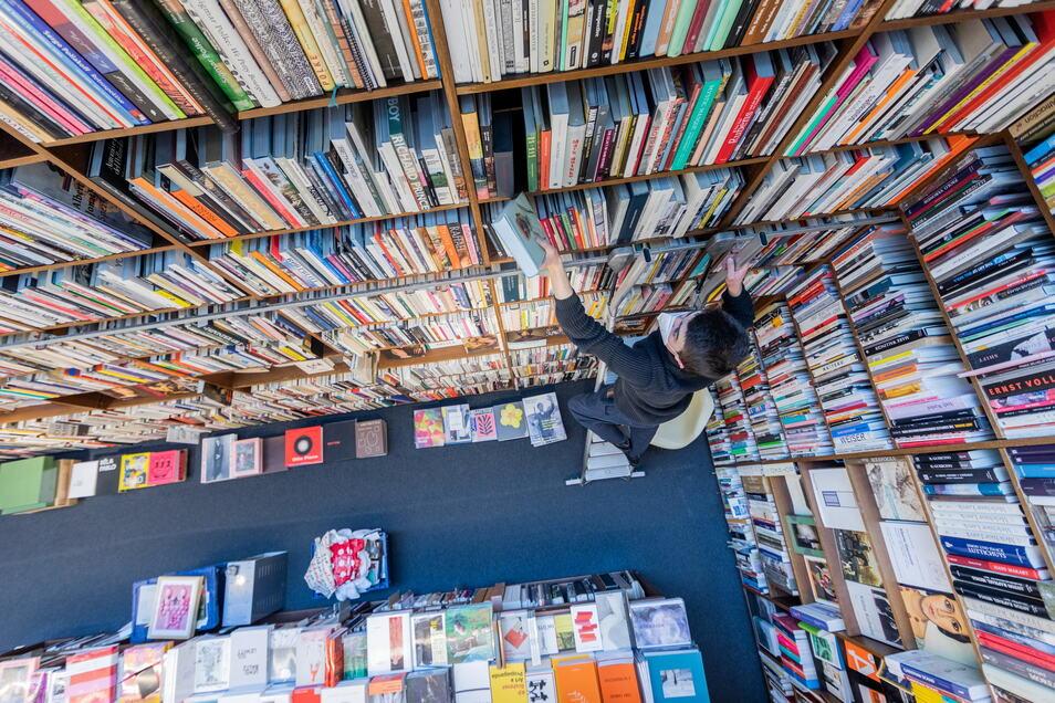 In Leipzig hätte am Donnerstag eigentlich die Leipziger Buchmesse 2021 beginnen sollen. Sie wurde jedoch wegen der Pandemie wie schon 2020 abgesagt.